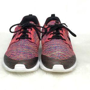 Nike Roshe Run NM Flyknit SE crimson/Blk Trainers